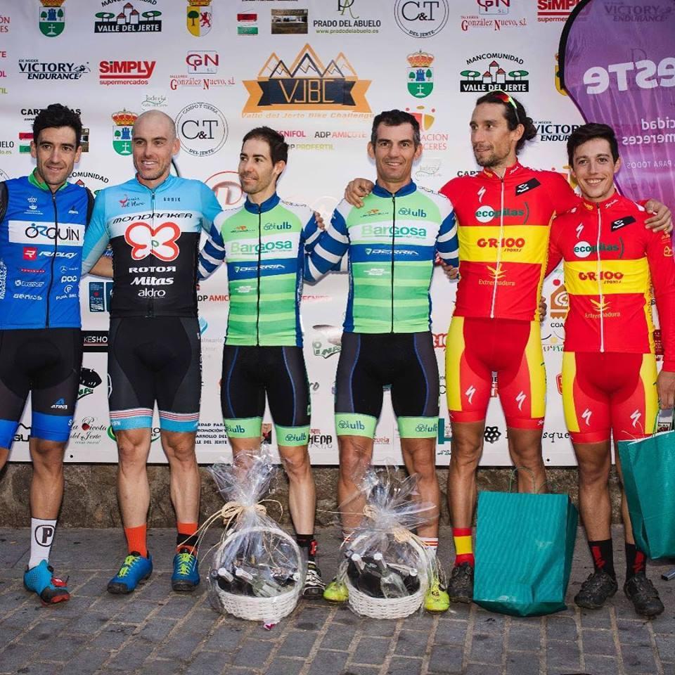 La dupla Pedro Romero- Manu Cordero acaban terceros en la Picota Bike