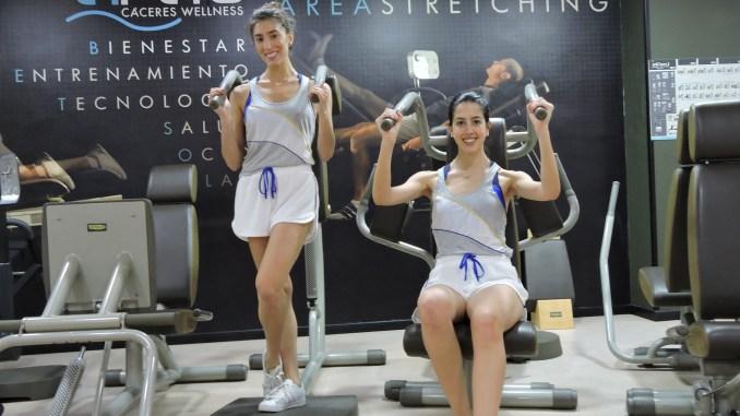 Alejandra Quereda y Sandra Aguilar en El Perú Cáceres Wellness