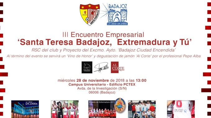 III Encuentro Empresarial 'Santa Teresa Badajoz, Extremadura y tú'