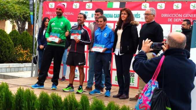 Buena participación de Cesar Astillero y de Moisés Blázquez en la II Transerena de Campo a través en Castuera