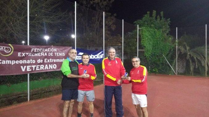 Ignacio de Llera se adjudica el Campeonato de Extremadura de Veteranos +55