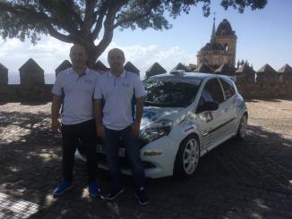 Los hermanos Jiménez Campos en el Rally Comunidad de Madrid-RACE