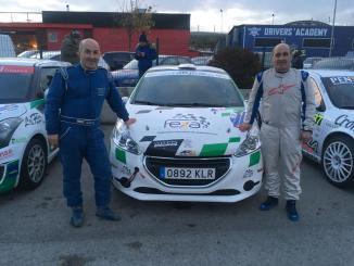 Los hermanos Jiménez Campos quintos del Grupo R2 en el Rally Comunidad de Madrid-RACE