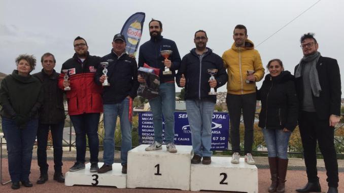 Los extremeños copan el podio en Arganda donde Caballero se alza campeón del regional madrileño