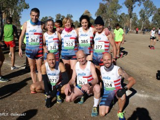 Varios fondistas del CAPEX en la media maratón Elvas-Badajoz
