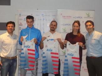 El CAPEX presenta a Nerea Fernández, David Barroso y Rubén Gómez