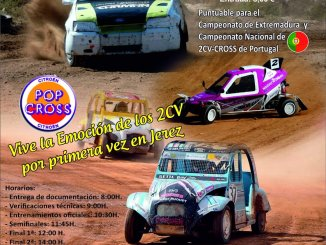 Penúltima cita del regional de Autocross en Jerez de los Caballeros