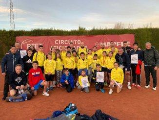 Finalizó el circuito aficionados 2018 del Tenis en la ciudad de Castellón