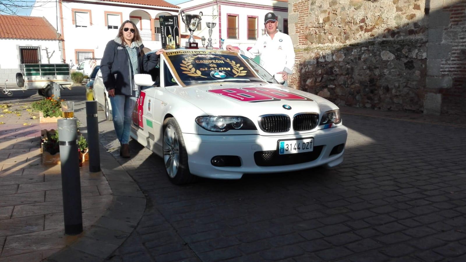 Cristian Carrasco se alza con el triunfo en el IV Slalom La Morera