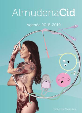 """""""La agenda para GIMNASTAS 2018-2019"""", el proyecto personal y único de Almudena Cid"""