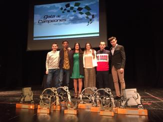El Extremadura Rallye Team sobresalió en la Gala de Campeones FEXA 2018