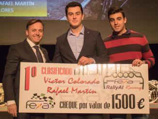 Víctor Colorado y Rafael Martín premiados en la Gala FEXA