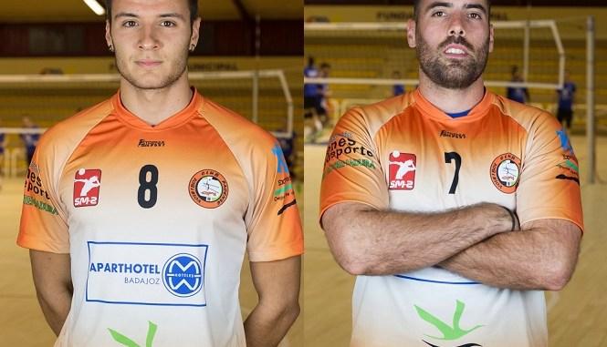 Lalo y David Soto, en el equipo de la jornada de Superliga Masculina 2