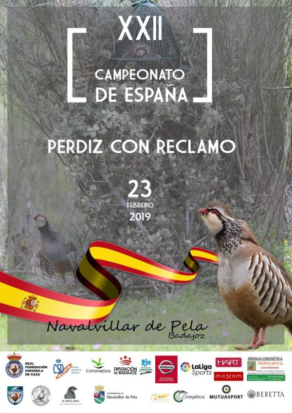 Navalvillar de Pela alberga el Campeonato de España de Perdiz con Reclamo 2019