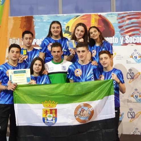 El Club Salvamento Don Benito se proclama Subcampeones de España por Equipos en la Categoría Cadete Masculino (1)