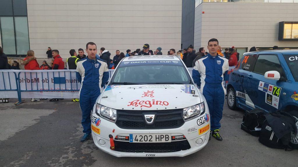 Paco Montes y David Collado inicia su singladura deportiva de este 2019 en el 26º Rallye del Bierzo