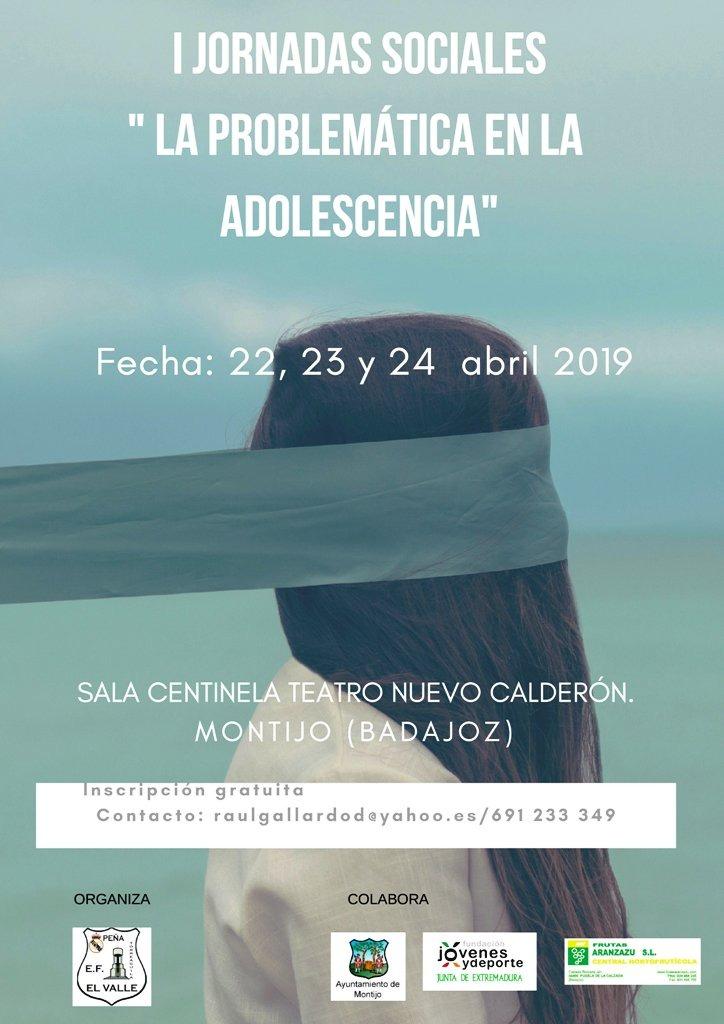 I Jornadas Sociales: La problemática en la adolescencia