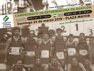 El Duatlón de Torrejoncillo cumple 20 años el domingo 24 de Marzo siendo Campeonato de Extremadura 2019