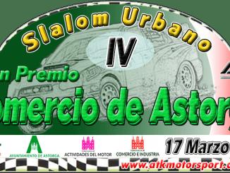 Cuatro vehículos de Espartanos Don Benito en el Slalom Urbano de Astorga