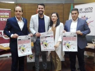 Presentado en sociedad la edición de 2019 del Circuito de Aficionados de Tenis