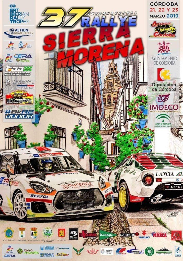 Quijada y Cuni Fernández debutan en la Dacia Sandero en Sierra Morena