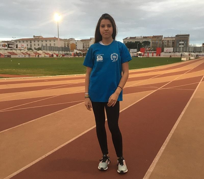 María Hurtado acude al Campeonato de España Juvenil de Pista Cubierta en el Velódromo