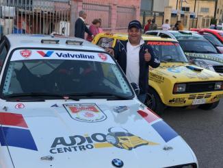 El pacense David Navarro cuarto en la IX Cronometrada Tramo Villaviciosa