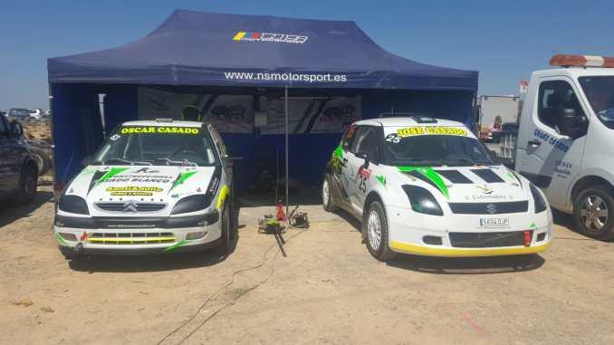 Los lances de carrera lastran la actuación extremeña en el Autocross de Lleida