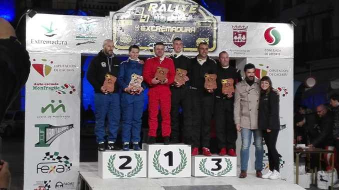 Cara y Cruz para el Q Racing Extremadura en el Rally Norte