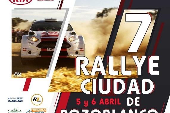 Una dupla de Faro de Extremadura en el Rallye Ciudad de Pozoblanco