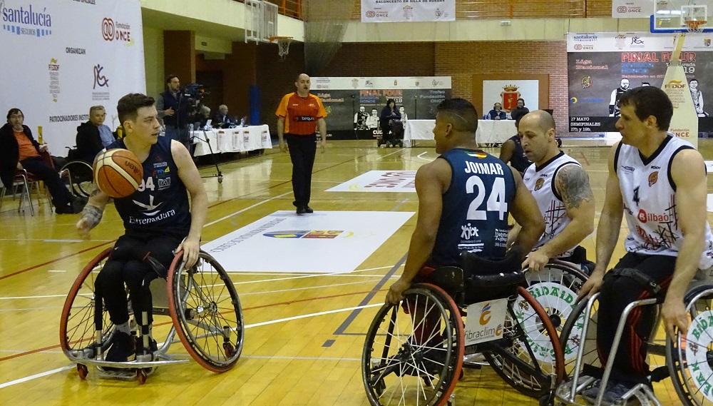 El Mideba Extremadura gana a Bilbao y termina tercera en la Liga