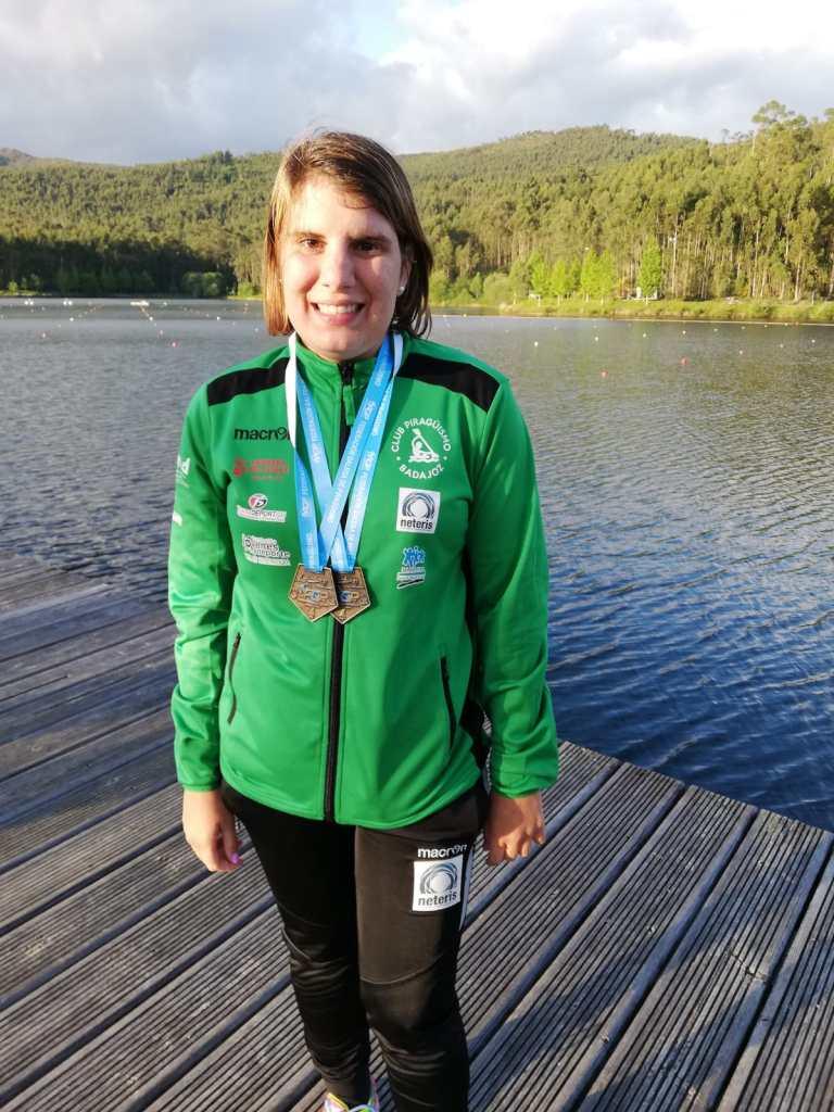 Elena Ayuso, campeona de la prueba de la Copa de España en Galicia