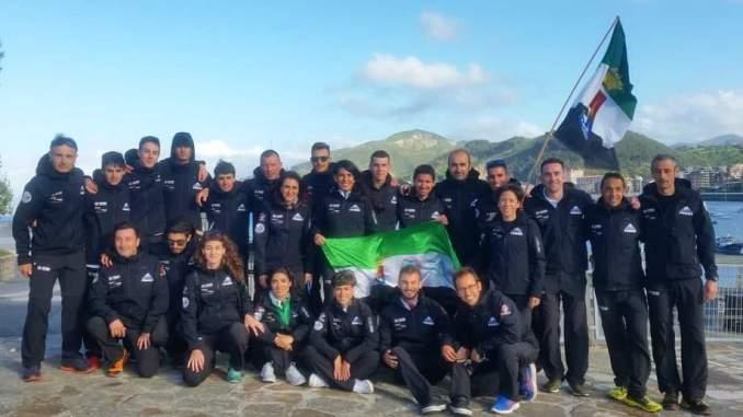 La Selección Extremeña de Carreras por Montaña se proclama doblemente campeona en Otañes