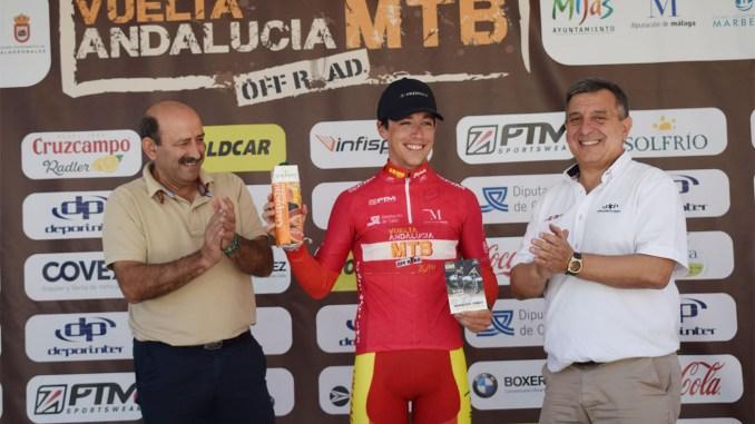 Manu Cordero mejor sub23 en la VC Andalucía MTB y segundo de la general