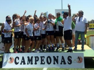 El Féminas Don Benito F.C. sub14 campeón del Torneo Exclusivo de Fútbol Femenino Playa Doñana