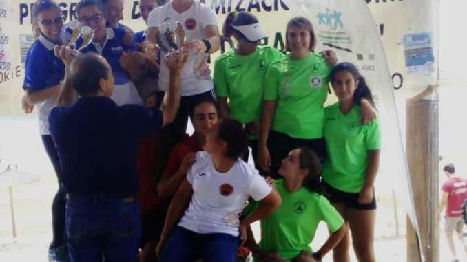 Bronce para Elena Ayuso en K4 en el III Campeonato Open Territorial Diputación de Badajoz