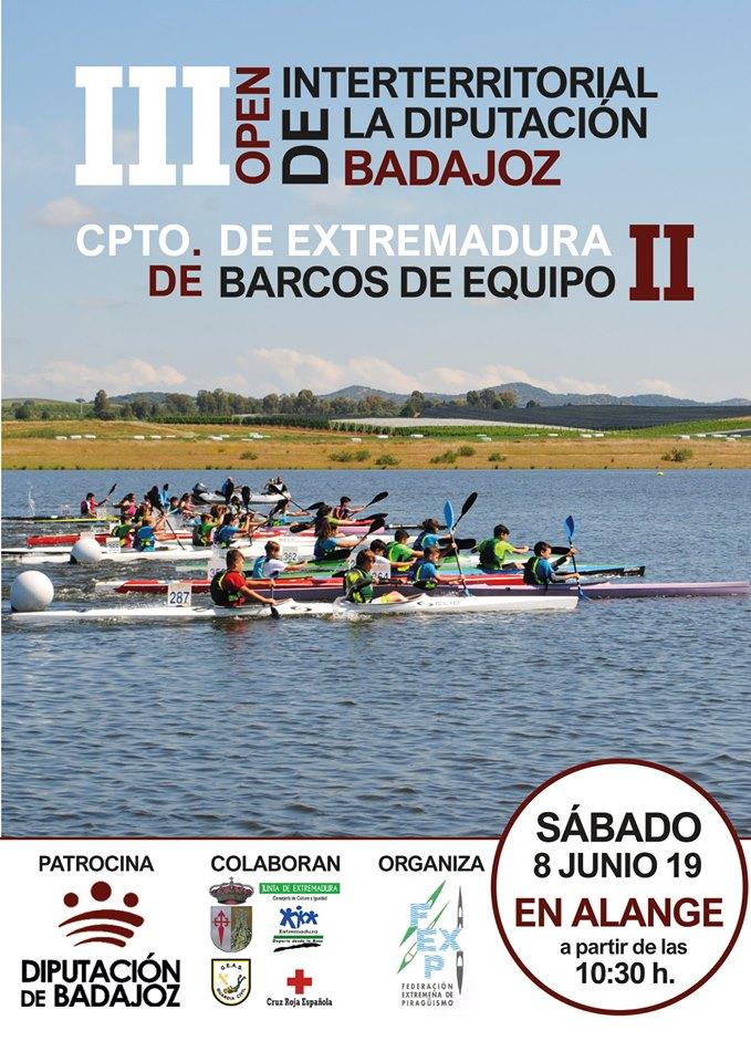 Elena Ayuso, a por todas en el III Campeonato Open Interterritorial de la Diputación de Badajoz