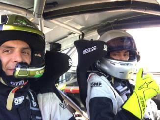 Candi Sánchez líder sólido el regional de asfalto de copilotos