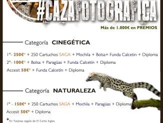 Abierto el plazo para participar en la sexta edición del Concurso #CAZAFOTOGRÁFICA