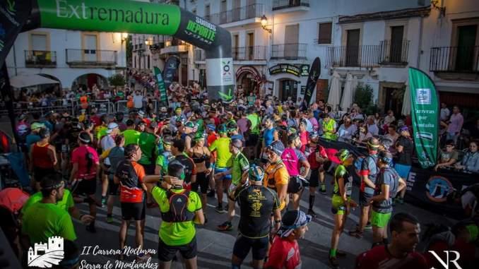 III edición de la Carrera Nocturna por montaña Sierra de Montánchez