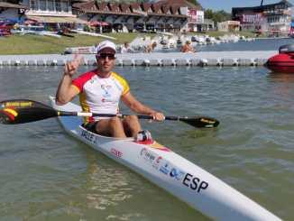 Juan Antonio Valle Gallardo hace historia al convertirse en el primer piragüista extremeño en conseguir una plaza para los Juegos Olímpicos de Tokio 2020