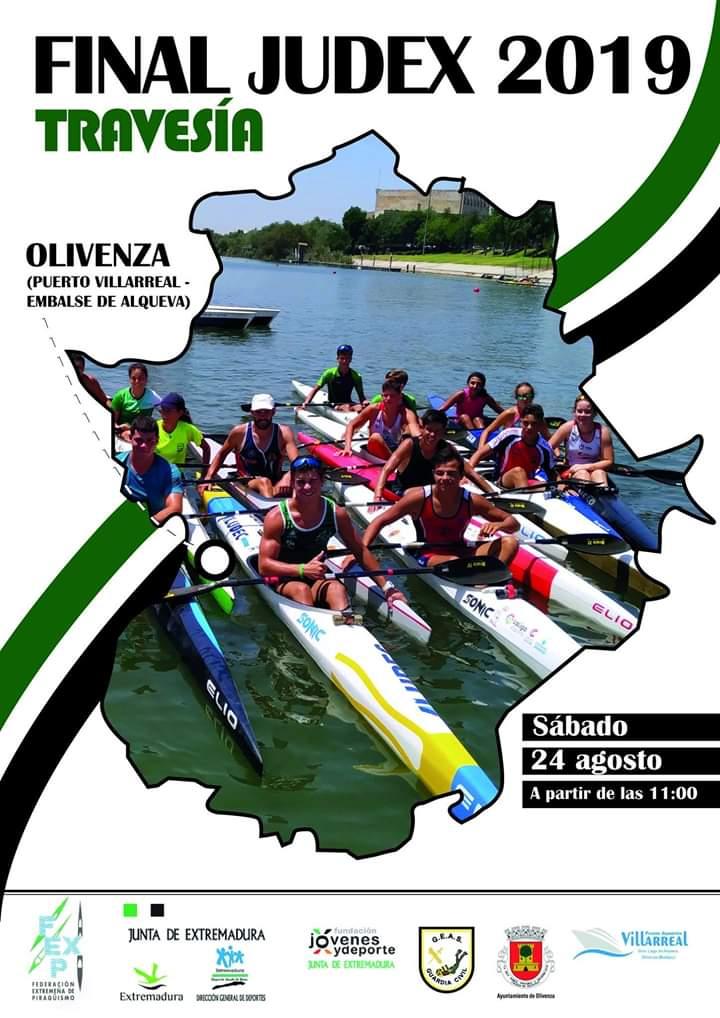 Última regata JUDEX en Olivenza para Elena Ayuso