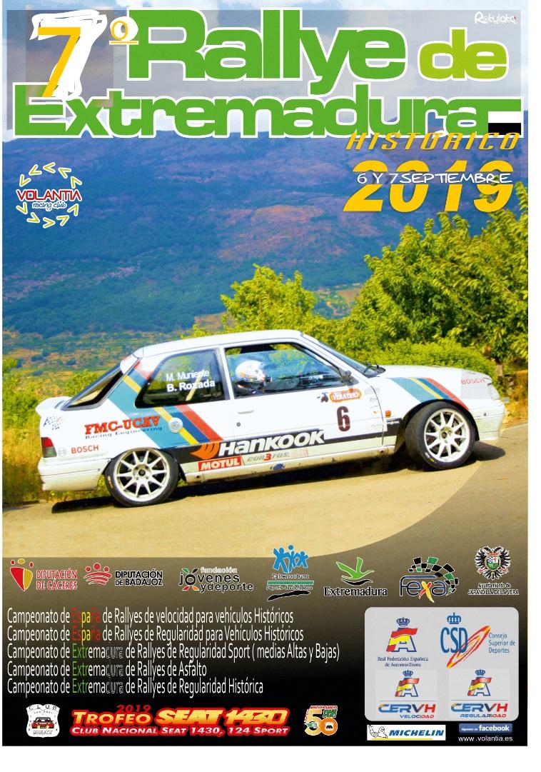 Avance del VII Rallye de Extremadura Histórico