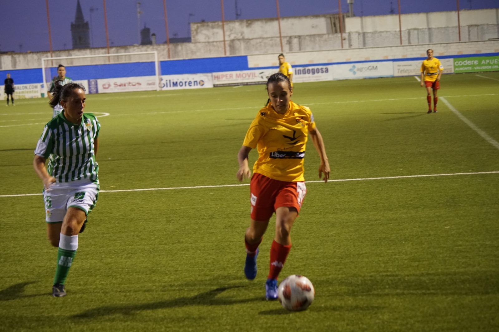 Gran partido del Santa Teresa Badajoz en la derrota por la mínima ante el Betis   2-1