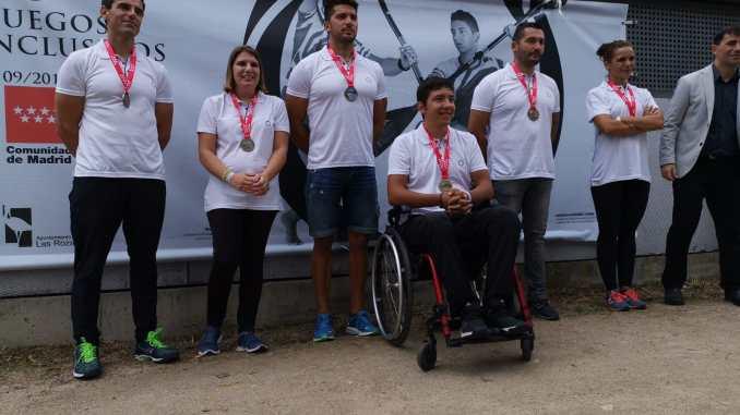 Bronce de Elena Ayuso y David Portela en los II Juegos Parainclusivos de Madrid