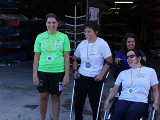 Elena Ayuso acaba primera en el Open Paracanoe de Zaragoza