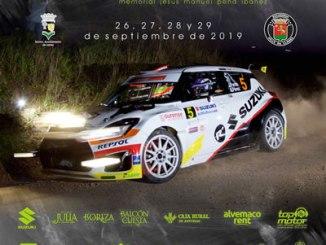 Dos duplas extremeñas en el Rallye de Llanes