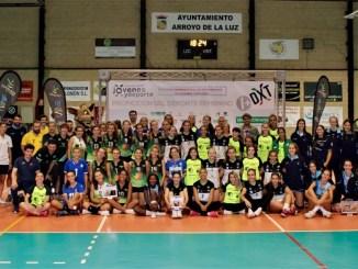 El Cajasol Juvasa sevillano se lleva el II Torneo Extremadura Juvenil Voleibol