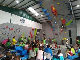 El Rocódromo Cereza Wall de Plasencia acogió una competición con el futuro formato olímpico