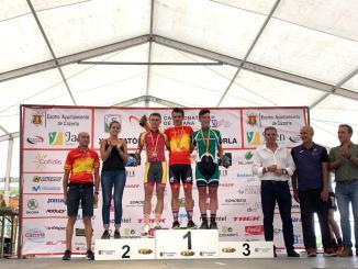 El extremeño Manu Cordero se cuelga el bronce en el Campeonato de España de BTT Maratón